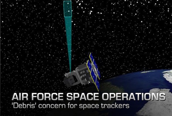 An artist's depiction of the Space Based Space Surveillance satellite. The Joint Space Operations Center uses data collected from SBSS to track orbiting objects in geostationary and low earth orbit, providng space situational awareness to U.S. miliitary and commercial space users. Members of the 1st and 7th Space Operations Squadron command and control the satellite
