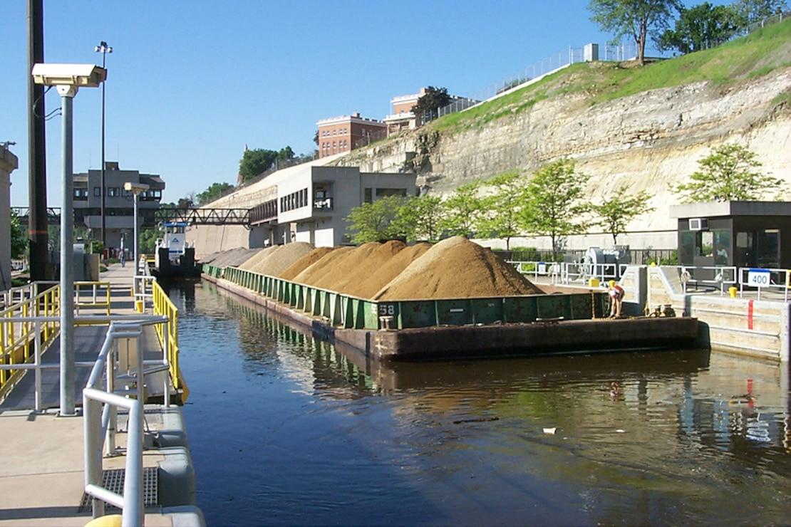 Lock and Dam 1, Minneapolis, Minn. Upper Mississippi River mile 847.9