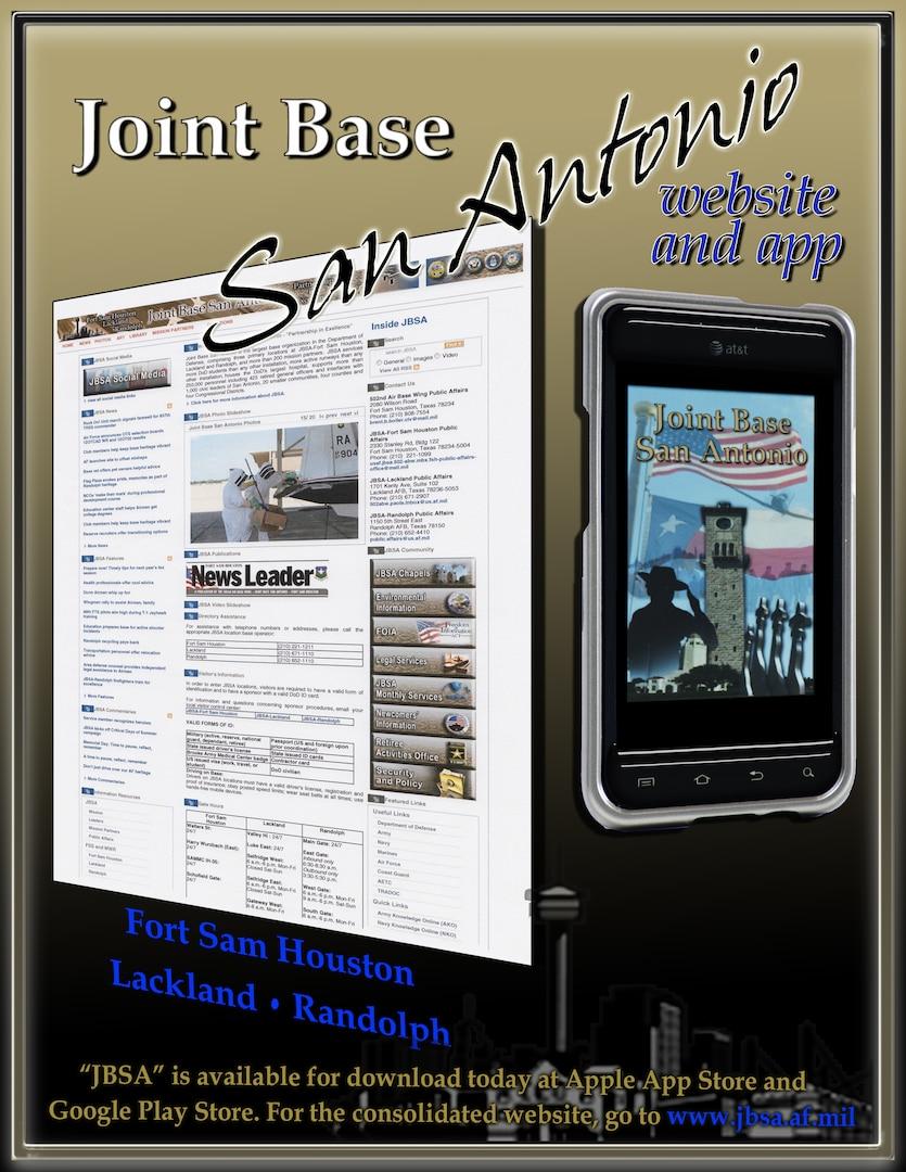 JBSA Mobile App graphic