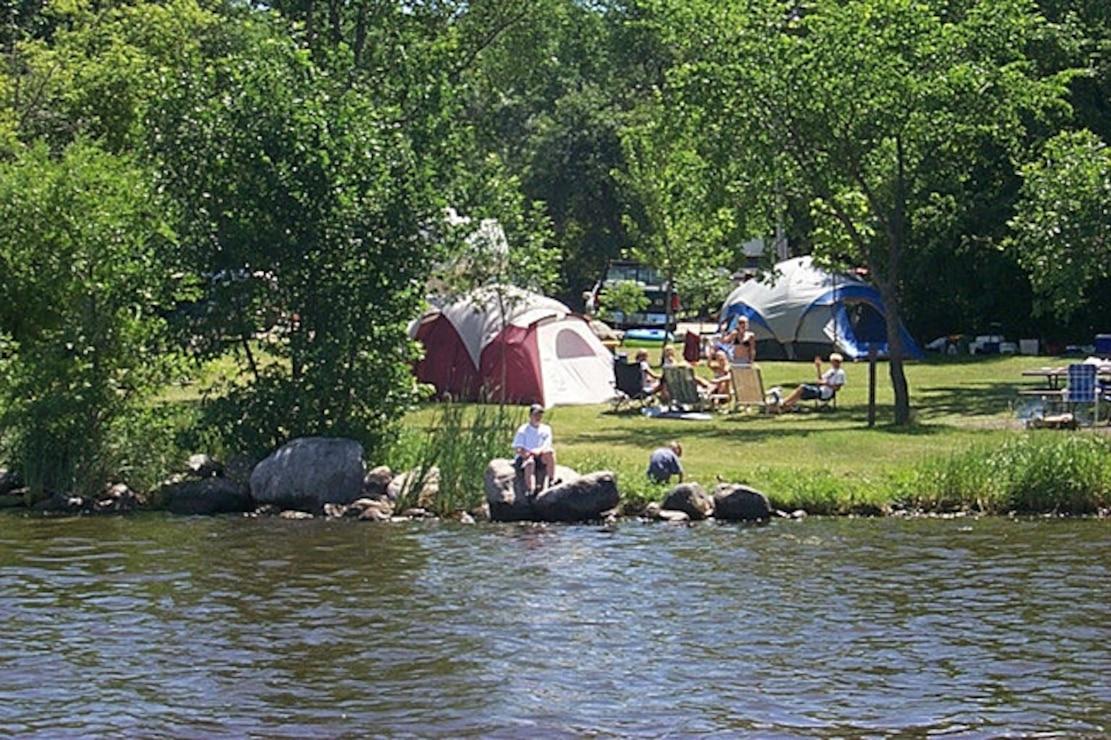 Lake Ashtabula campground