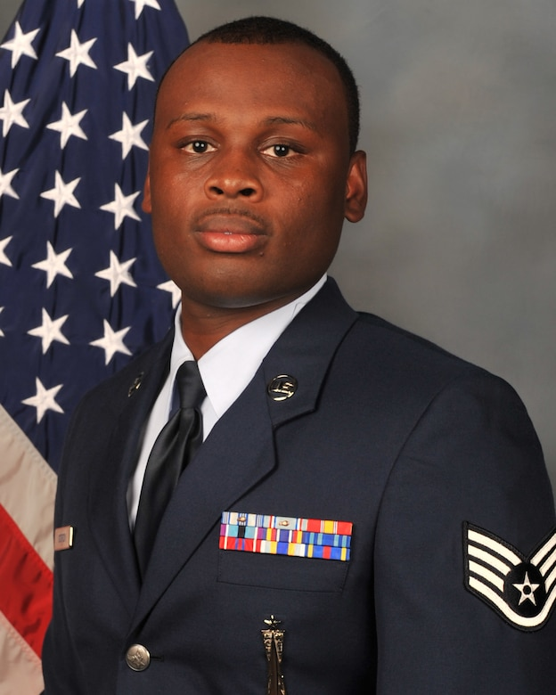 Staff Sgt. Derrick J. Gordon, 2nd Munitions Squadron, 2nd Maintenance Group, 2nd Bomb Wing, Barksdale AFB, La., received the Ground Safety Well Done Award, presented in recognition of non-safety Airmen who make a significant contribution that affects overall mishap prevention activities in ground and weapons safety. (U.S. Air Force photo)