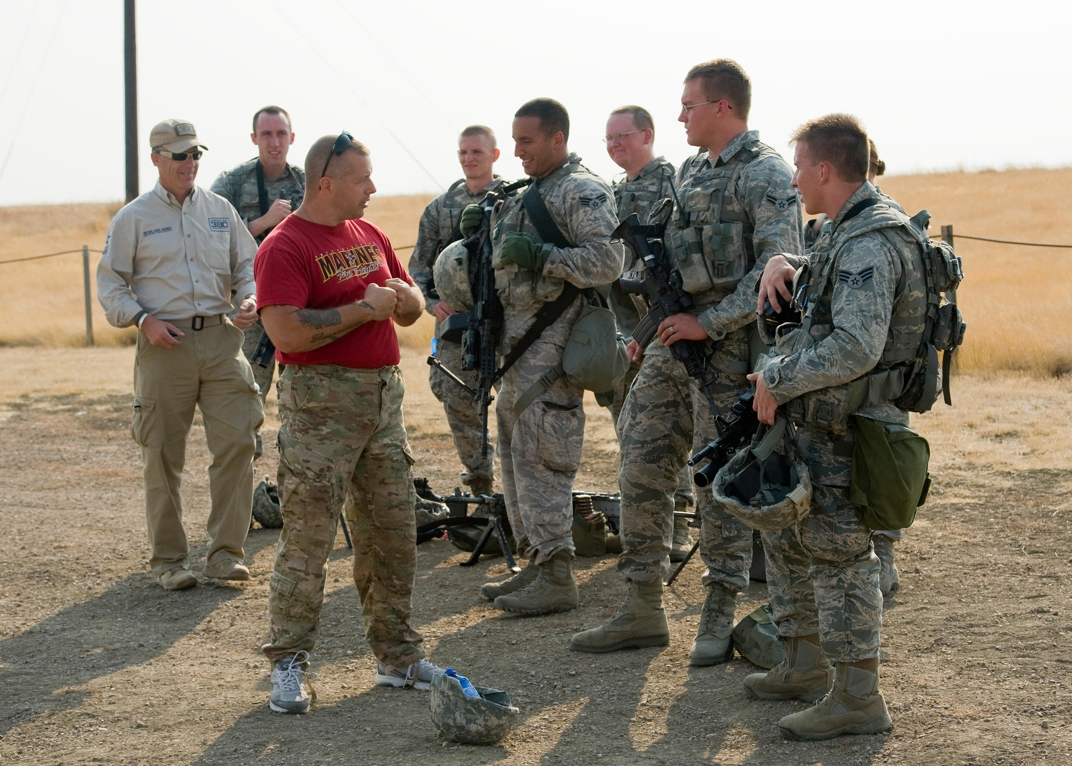 American300 Tour brings wounded vets, stories of survival > Air ...