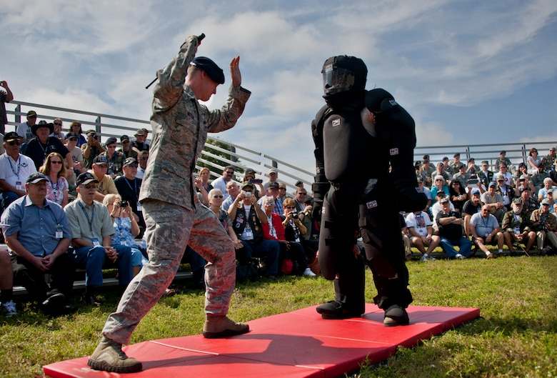 Old, new security forces members come together > Eglin Air