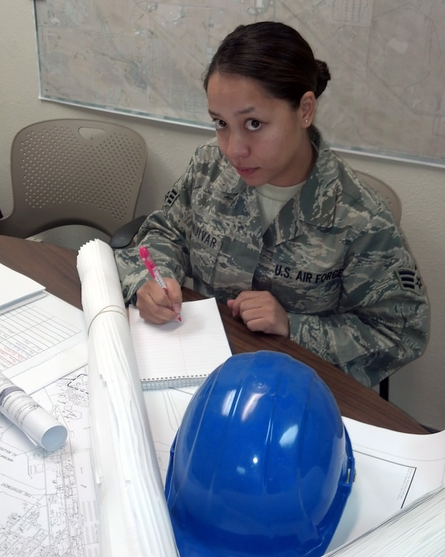 Desert Lightning Team's Weekly Warrior Senior Airman Marilyn Menjivar