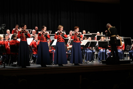 """The President's Own"""" United States Marine band performs John Philip Sousa's """"The Stars and Stripes Forever"""" Oct. 1.  """"The President's Own"""" is currently on their 2012 National Concert Tour."""