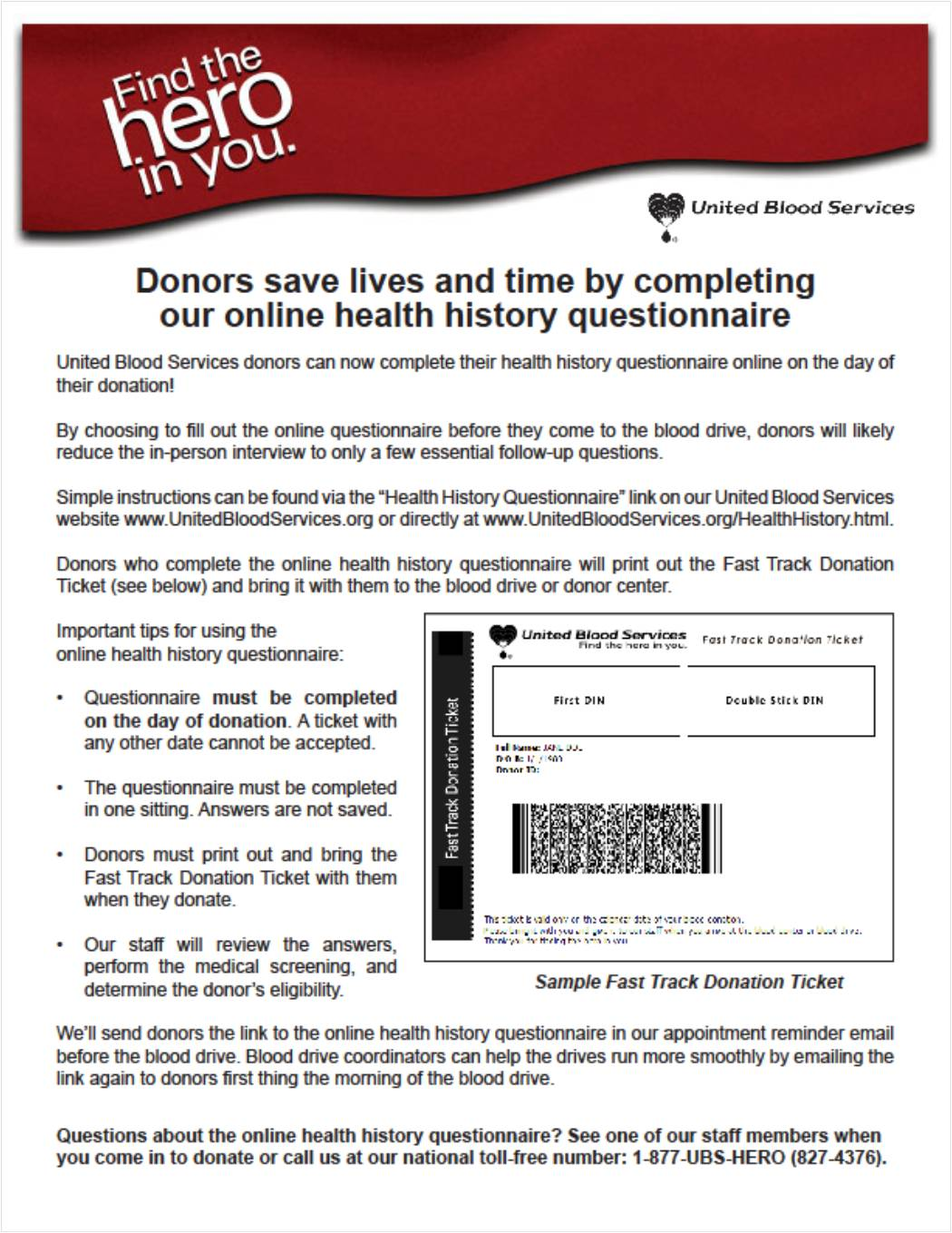 united blood services online health history questionnaire 152nd