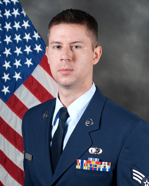 Senior Airman Braden Sikkema, an intelligence analyst with the 123rd Operations Group, has been named the Kentucky Air National Guard's 2012 Outstanding Airman of the Year in the Airman category.  Sikkema has deployed twice and was selected for several special assignments in the commonwealth in 2011. (U.S. Air Force photo by Master Sgt. Phil Speck)