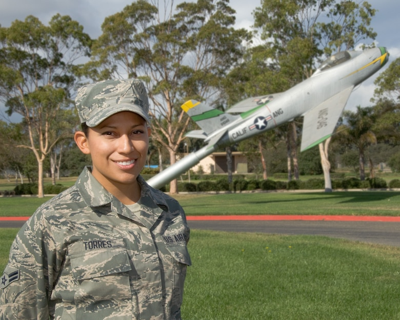 Airman First Class Monique Torres is the October Featured Airman of the Month for the 146th Airlift Wing.