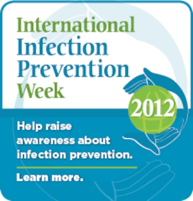 International infection prevention week 2012.(Courtesy graphic/Released)