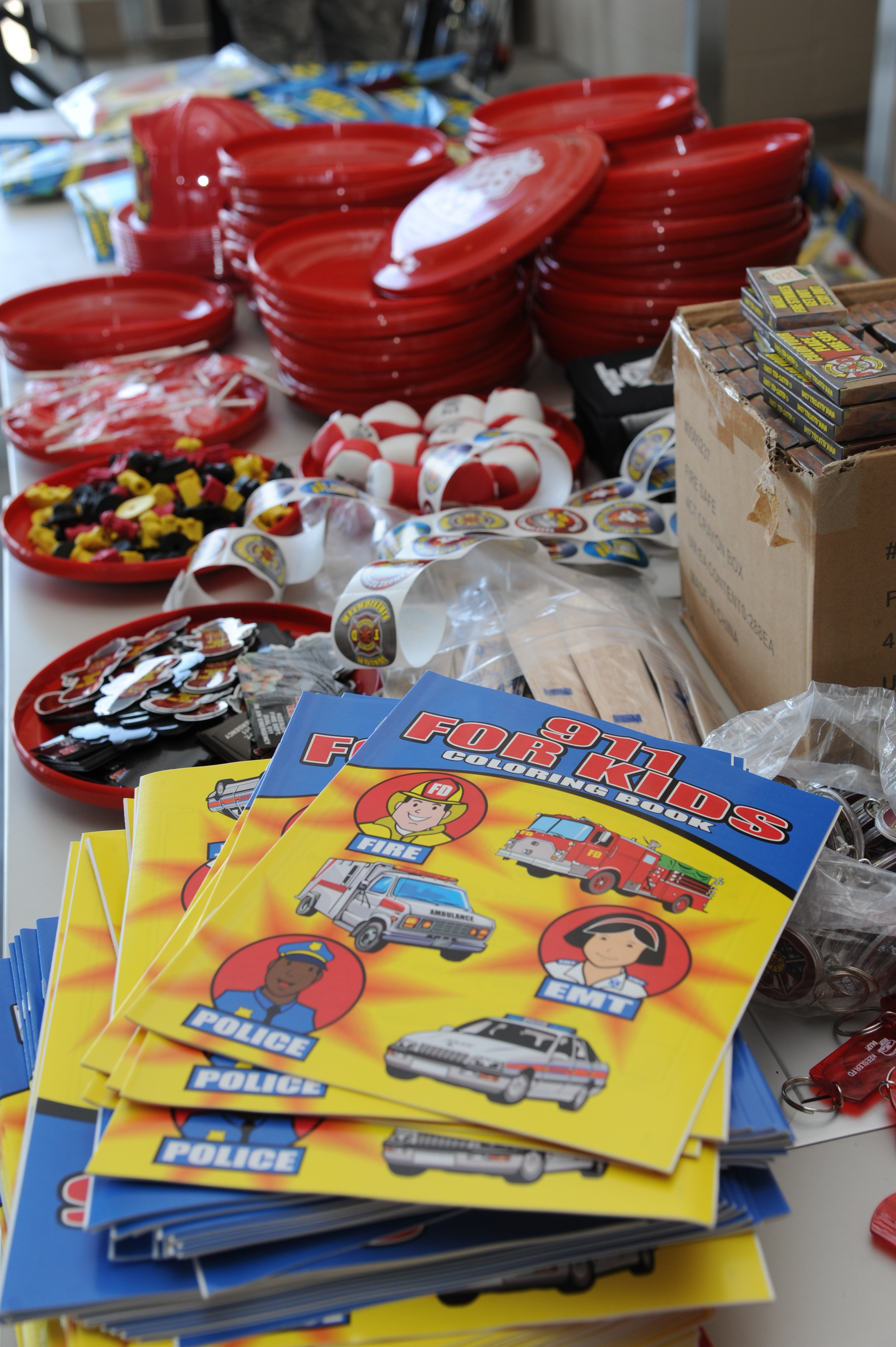 Fire prevention week ends with open house