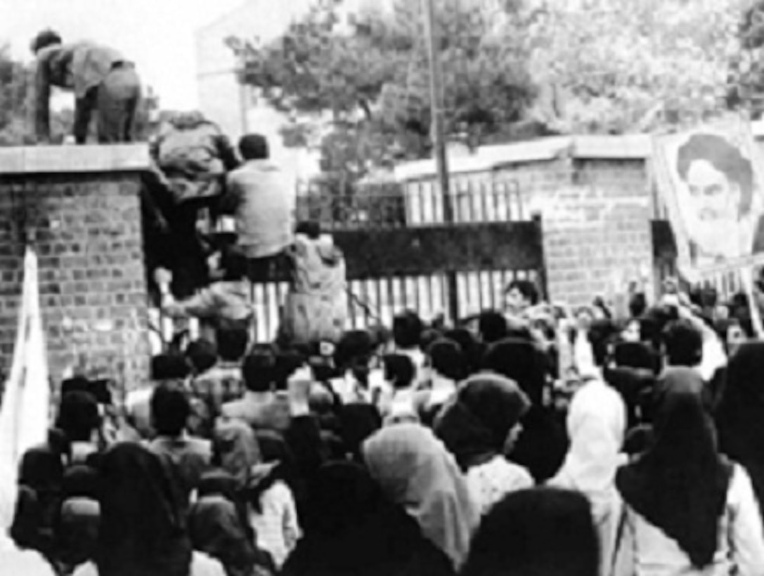 After thousands of Iranian militant students stormed the U.S. Embassy in Tehran, Iran, 66 Americans were seized and held hostage. The attempt to rescue them ended in disaster at the Desert One refueling site in April 1980. As a result, the Holloway Commission convened to analyze why the mission failed and recommend corrective actions. This led to the gradual reorganization and the birth of United States Special Operations Forces. (courtesy photo)