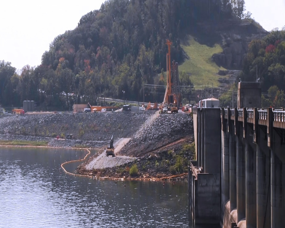 Corps environmental assessment underway at Center Hill Dam