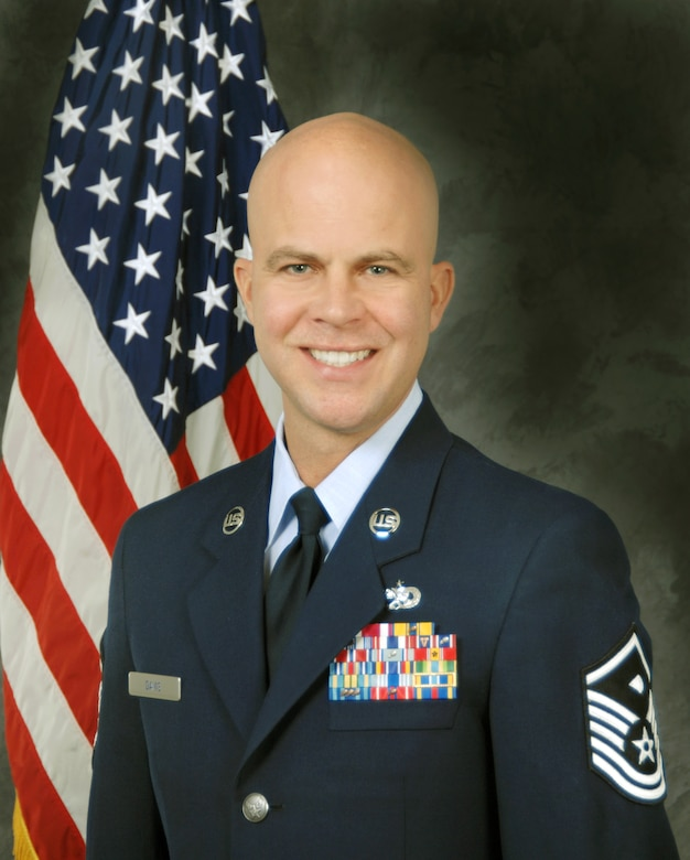 Master Sgt. Jason Davis, 489th Reconnaissance Squadron first sergeant. (U.S. Air Force photo/Released)