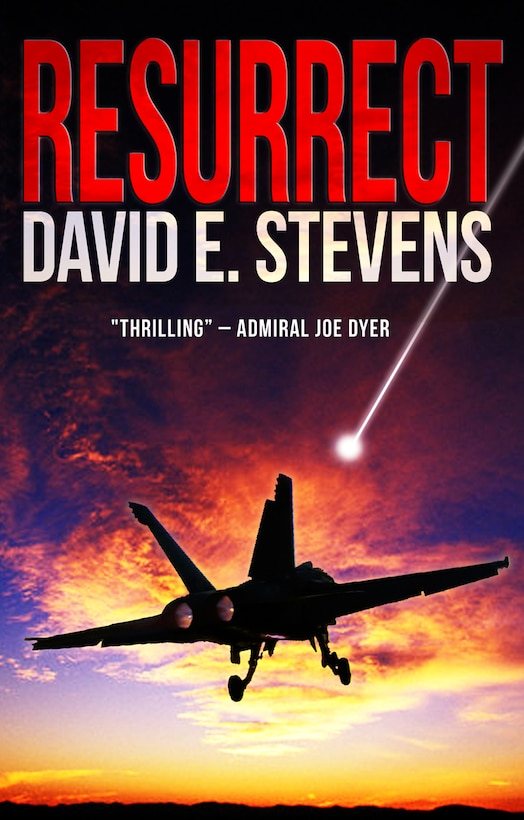 """A new science fiction thriller book, """"Resurrect,"""" written by retired AEDC Navy commander David Stevens, is the first in a trilogy. The book will be available in bookstores Nov. 1."""