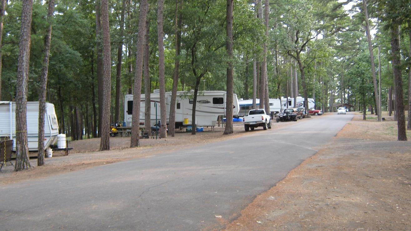 Camping at Waveland Park