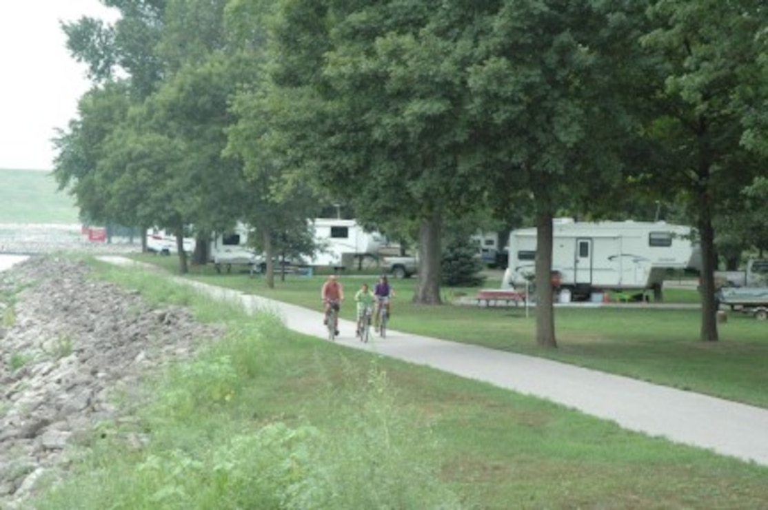 Campers in Howell Station