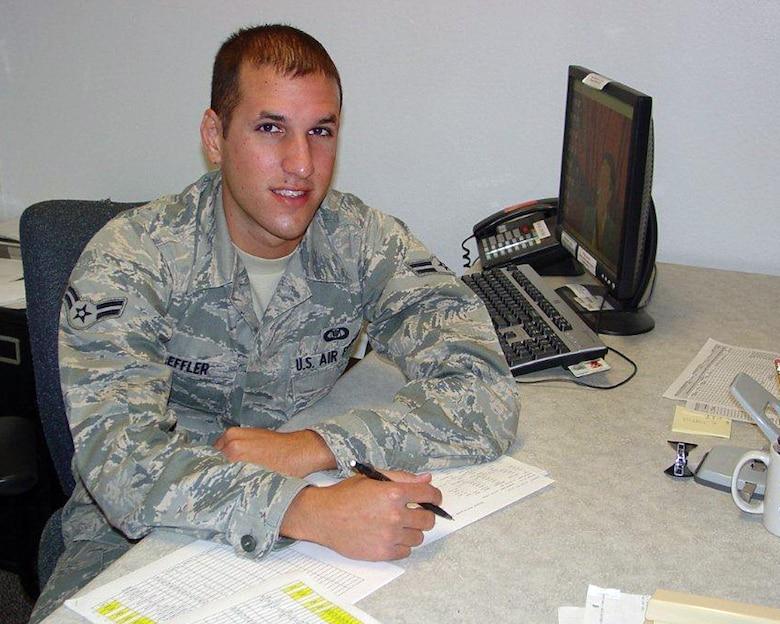 Desert Lightning Team's Weekly Warrior Airman 1st Class Ian Leffler