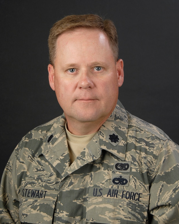 Portrait of Lt. Col. Allen Stewart, Commander of the 169th Logistics Readiness Squadron at McEntire Joint National Guard Base, S.C. (SCANG photo by Tech. Sgt. Caycee Watson/Released)