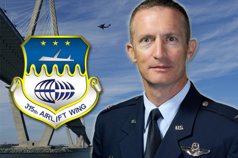 Col. Jamie Fontanella, 315th Airlift Wing Commander
