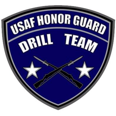 U.S. Honor Guard Drill Team shield.  (U.S. Air Force graphic)