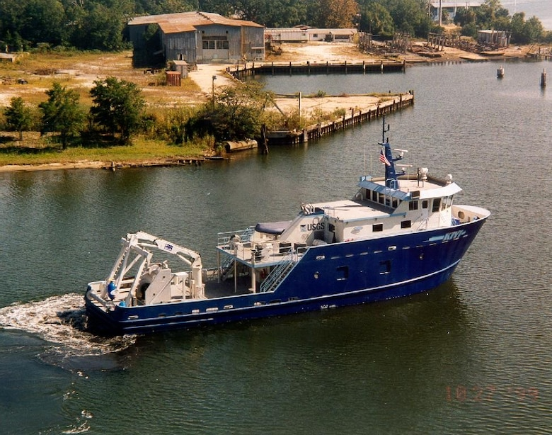 The United States Geological Survey's Research Vessel Kiyi was commissioned in 2000.