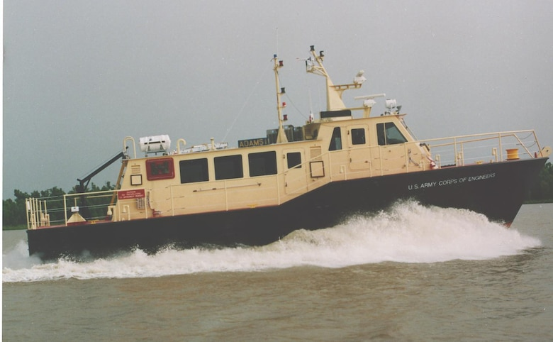 The Survey Vessel Adams II was built for the U.S. Army Corps of Engineers Norfolk District in 1997.