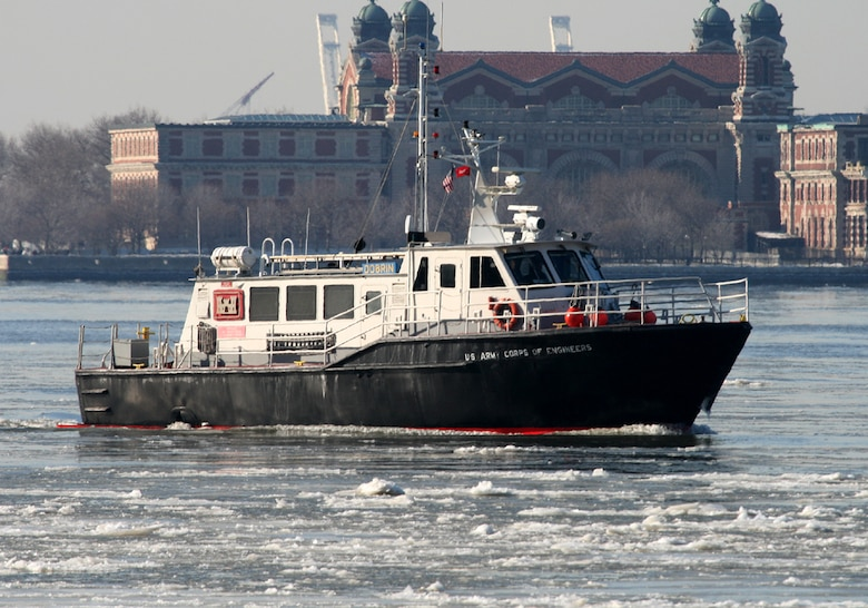 The Survey Vessel DOBRIN was built for the U.S. Army Corps of Engineers New York District in 1998.