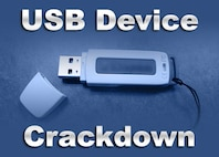 The Air Force Academy's 10th Communications Squadron announced Aug. 30, 2012, that it would begin cracking down on users who violate network policy on USB flash drives. (Original image/Nebraska Library Commission)