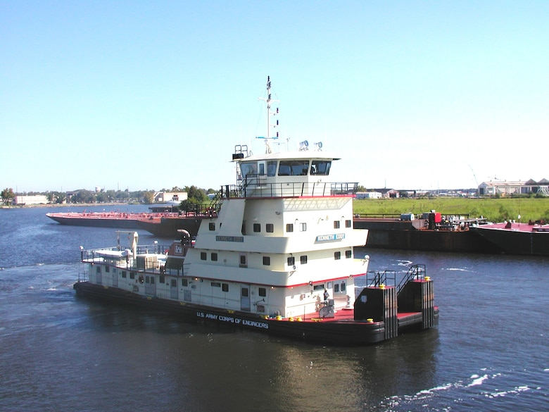 The M/V KENNETH EDDY was commissioned in 2006.