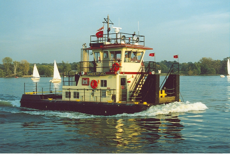 The M/V SANDERFORD was commissioned in 2005.