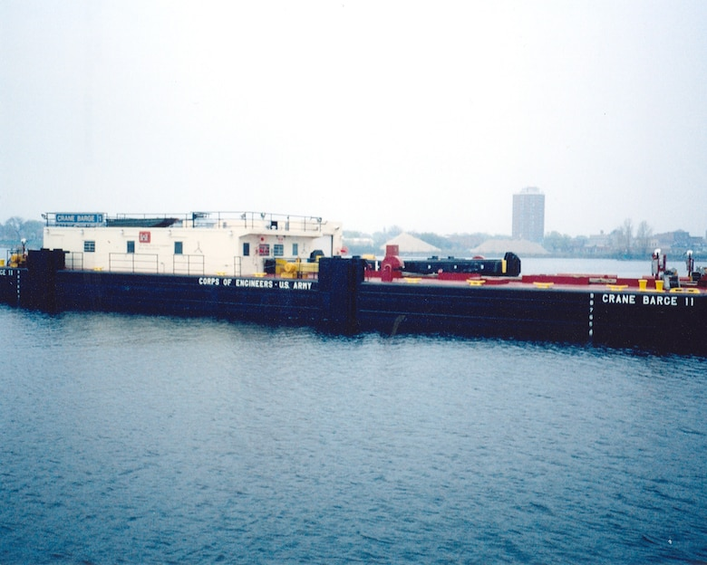 CRANE BARGE 11 was commissioned in 2006.