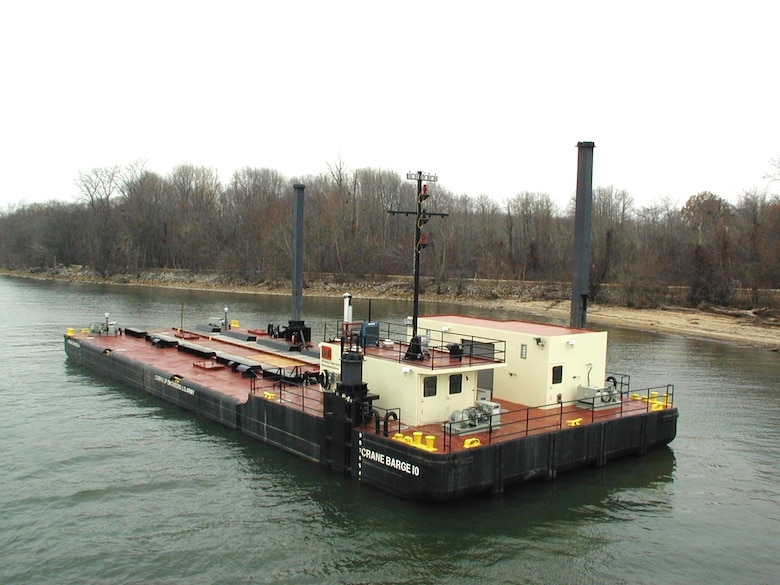 CRANE BARGES DB-9 & DB-10 were delivered in 2003.