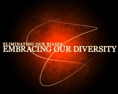 """The Air Force Policy Directive 36-70 on Diversity states that """"diversity is a military necessity...it provides an aggregation of strengths, perspectives, and capabilities that transcends individual contributions...and ensures our long-term viability to support our mission."""" (U.S. Air Force graphic by Senior Airman Jarad A. Denton/Released)"""