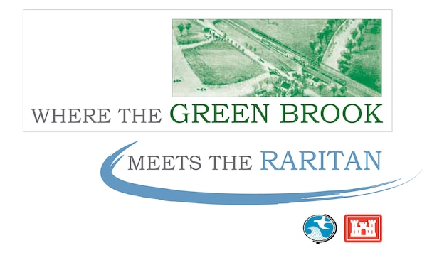 """Cover of the """"Where the Green Brook Meets the Raritan"""" history booklet."""
