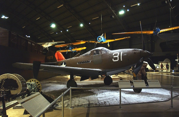 DAYTON, Ohio -- Bell P-39Q Airacobra in the World War II Gallery at the National Museum of the U.S. Air Force. (U.S. Air Force photo)