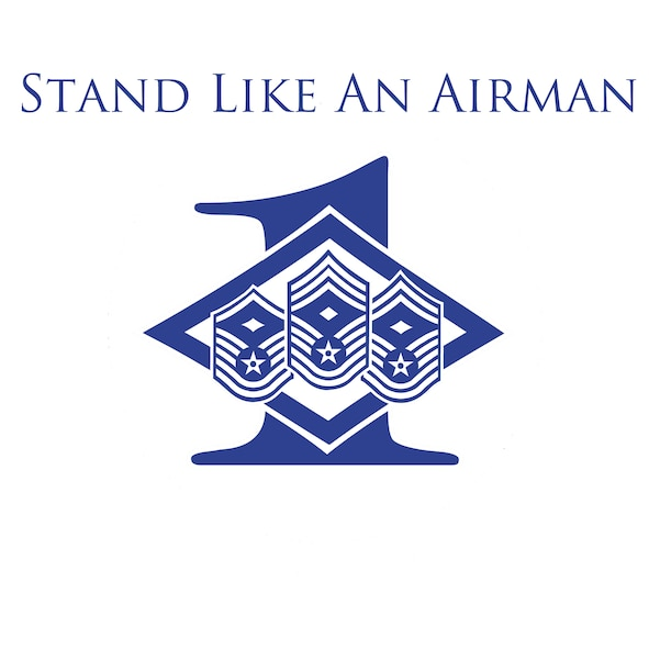 Stand Like An Airman (Air Force Illustration by Master Sgt. Michael Voss)
