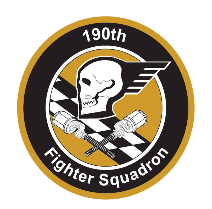 190th Fighter Squadron Seal