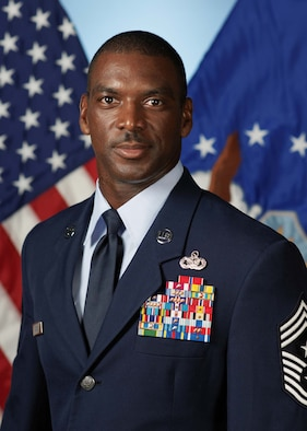 Chief Master Sgt. James Davis became the 9th Air Force's command chief Aug. 3, 2012.