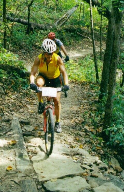 Perry Lake Mountain Biker
