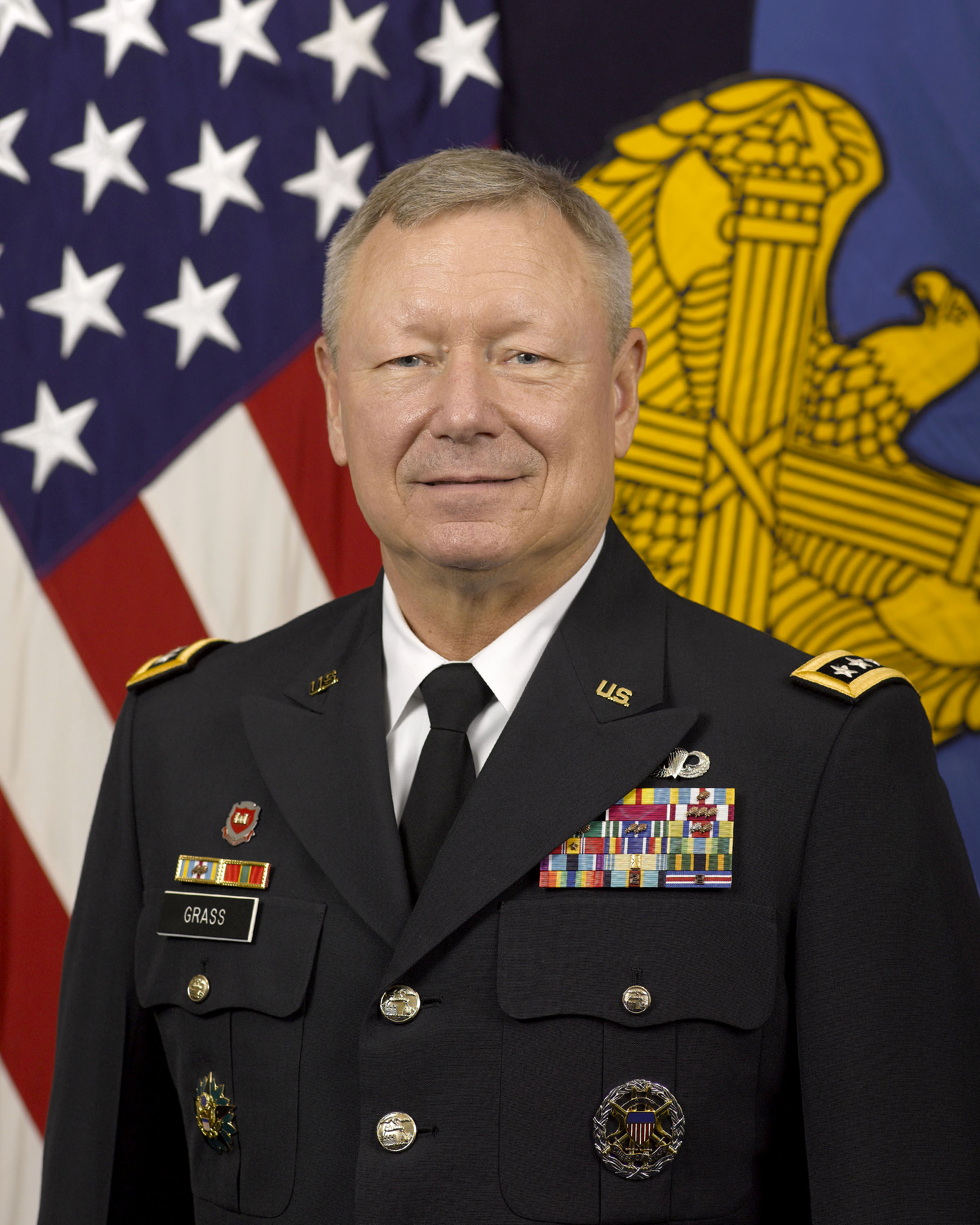 General frank j grass u s department of defense for Bureau chief