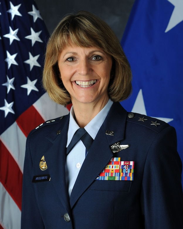 Maj. Gen. Margaret  Woodward assumed the duties of Air Force Chief of Safety and commander of the Air Force Safety Center on Sept.17.