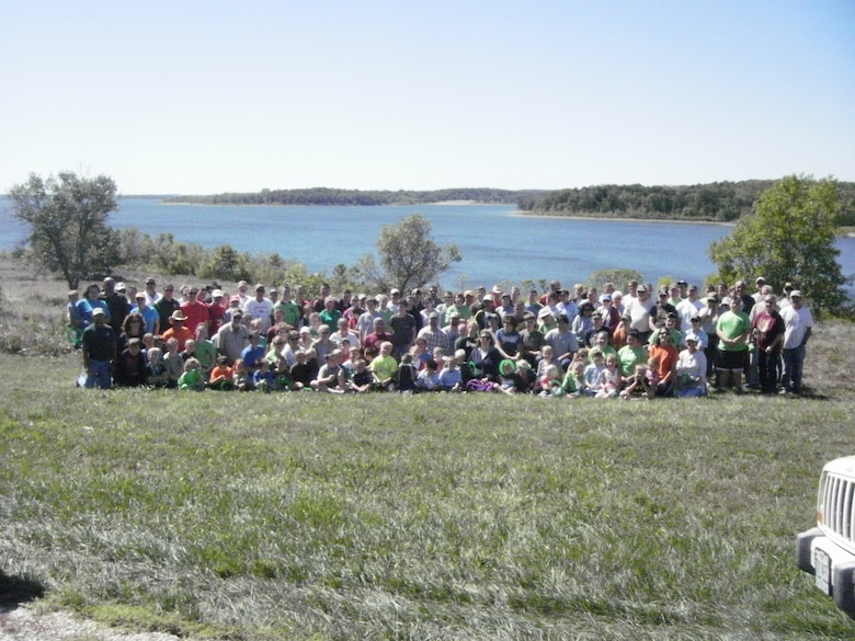 Volunteers participated in the annual Stockton Lake Cleanup on Sept. 8.