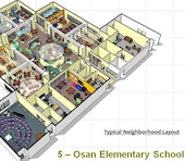 For years the U.S. Army Corps of Engineers has collaborated with the Department of Defense Education Activity on the designs of education facilities. As studies emerged showing that evidence-based design measurably improves students' academic performance, DoDEA approached USACE to help them develop new schools – 21st century schools - that would foster more productive learning environments.