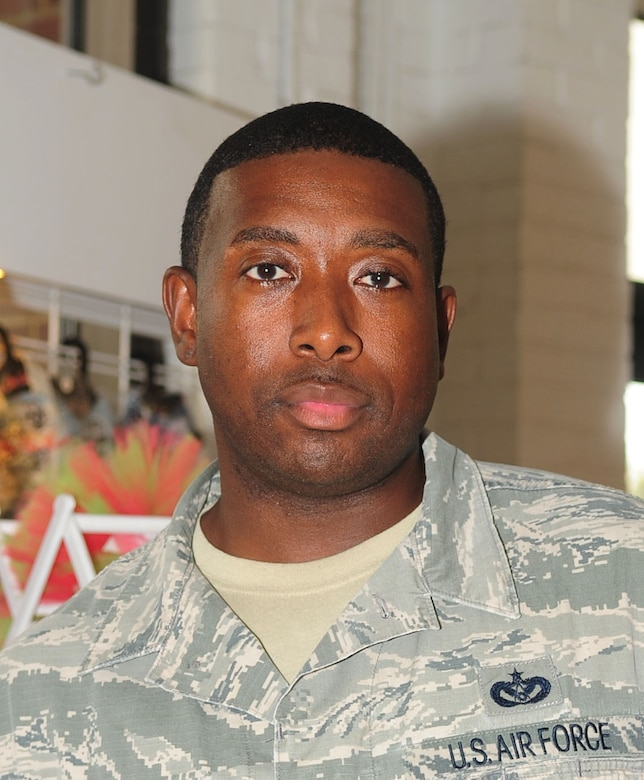 """What does the Oath of Enlistment mean to you? Staff Sgt. Corey Lee – 633rd Civil Engineer Squadron """"To me, it means I'm really giving my honest heart and truth into enlisting for my country. Like saying, 'hey, I really want to do this.'"""""""