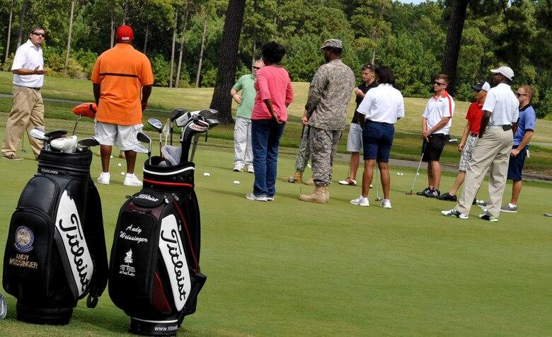 Pga Pros Get Wounded Warriors Back On Par Through Golf Program Air