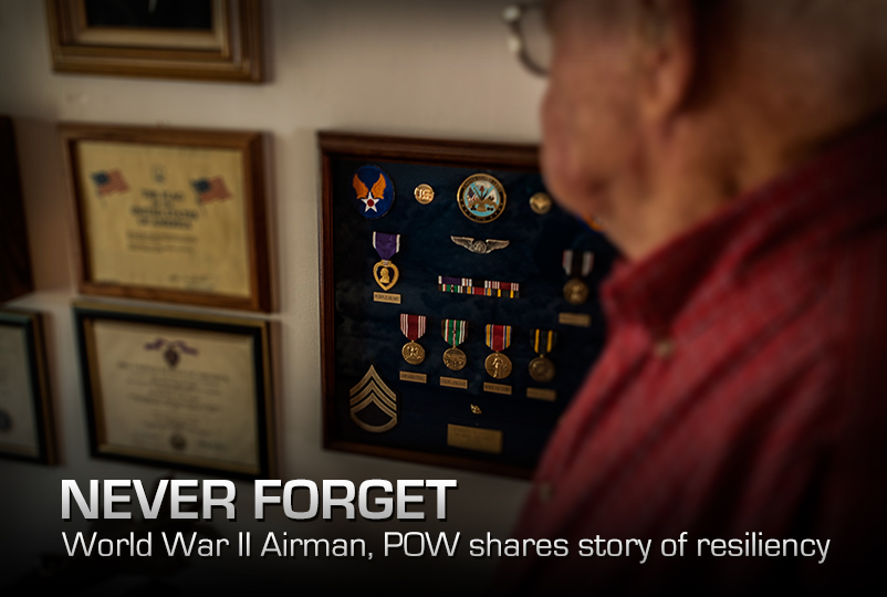 Never Forget World War Ii Airman Pow Shares Story Of Resiliency