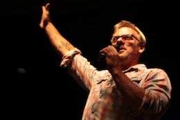 Phil Vassar, a country artist and song writer, greets his fans during his free concert at the Pacific Views Event Center on Marine Corps Base Camp Pendleton, Sept. 20.