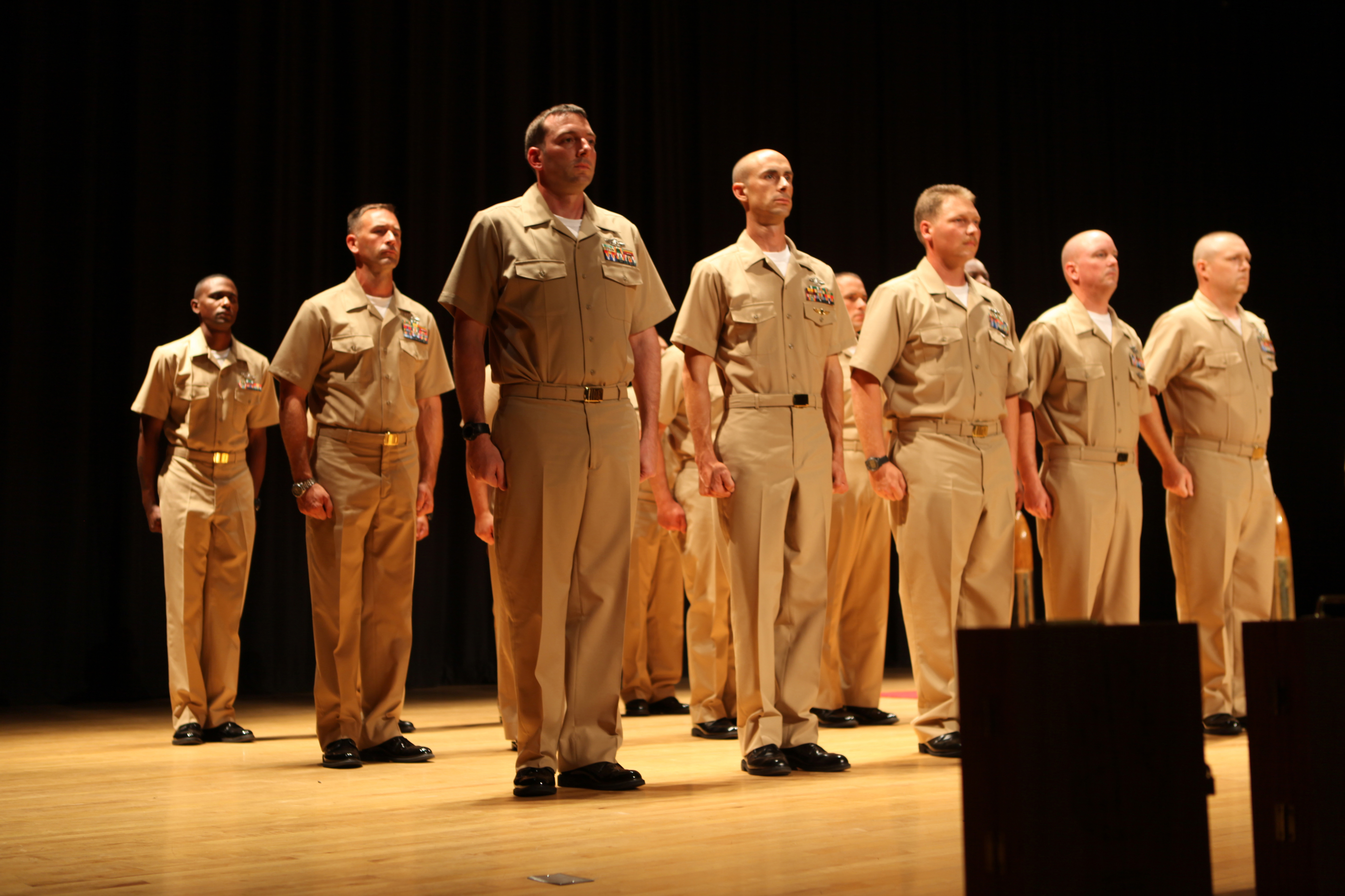 Lejeune welcomes newest chief petty officers > Marine Corps Base