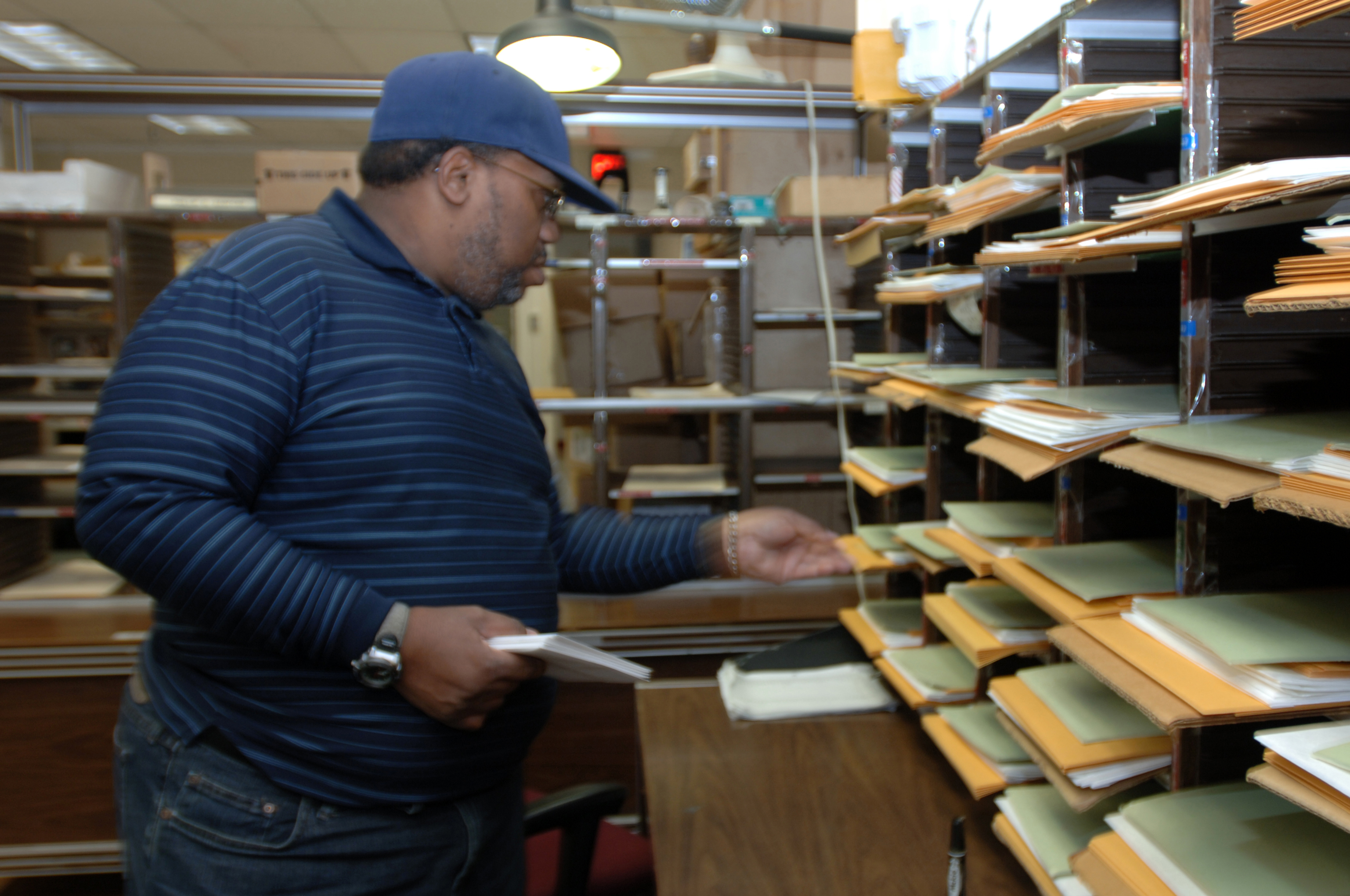 Goodwill delivers mailroom clerk heavenly recognition ...
