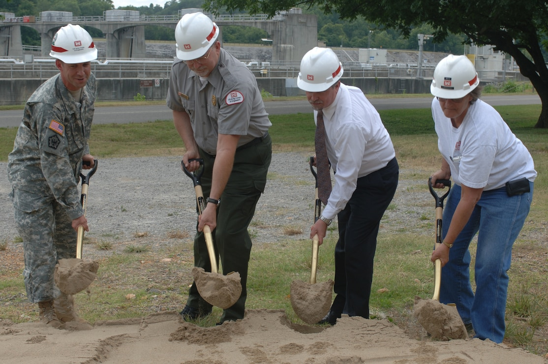 Nashville District breaks ground on Cheatham buildings destroyed in May 2010 flood